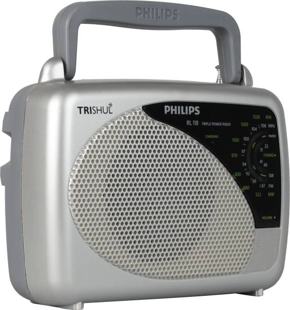 PHILIPS RL 118 3 Band Portable FM Radio
