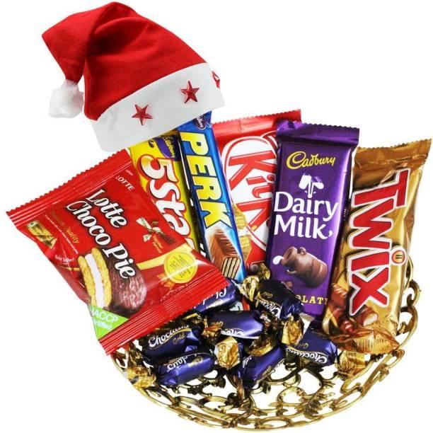 Cadbury Chocolate Gift Hamper | Chocolate Gift For Christmas | 201 Combo
