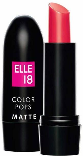 ELLE 18 Color Pops Matte Lip Color-PROM PINK-P26