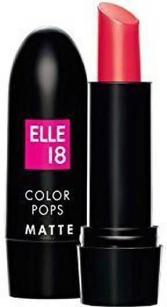ELLE 18 Color Pops Matte Lip Color-SELFIE RED-R34