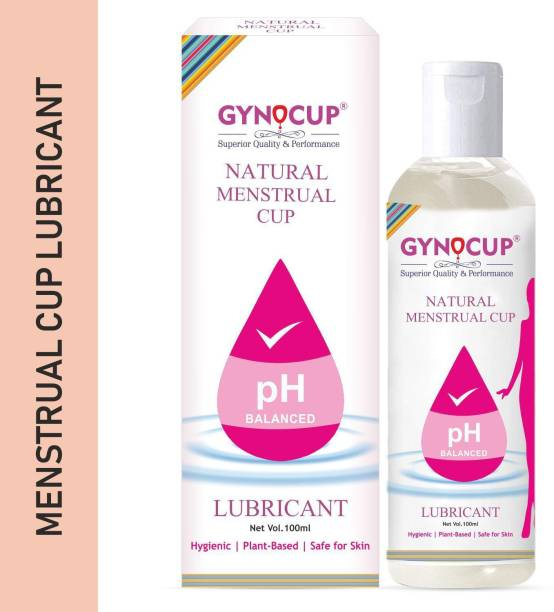 Gynocup Menstrual Cup Lubricant Water based & pH Balanced, hypoallergenic and safe for use, Helps to wear Menstrual Cup Lubricant