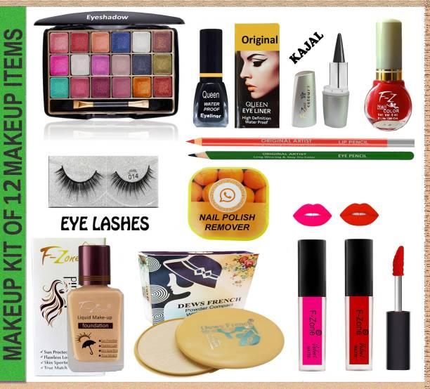 OUR Beauty Makeup kit Of 12 Makeup Items MI110