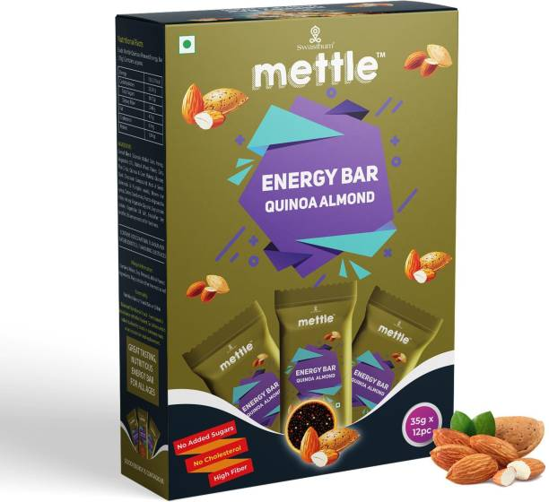 mettle Quinoa Almond Energy Bars