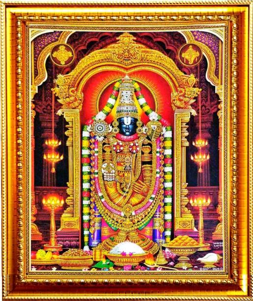 SUNINOW Tirupati balaji photo frame Religious Frame