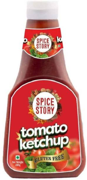 Spice Story Tomato Ketchup, Gluten Free, Sweet and Spicy- 400gm Sauce