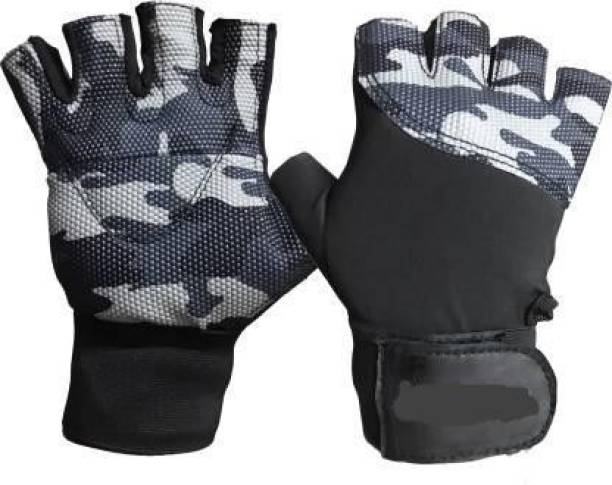 EMMKITZ Exercise Weight Lifting Gym & Fitness Gloves (Multicolor) Gym & Fitness Gloves