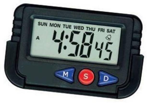 Royals Digital Black Clock