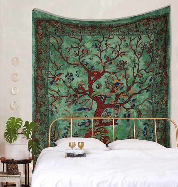 Heyrumbh Handicrafts Mandala Hippie Mandala Wall Decoration Bedspread Bedcover Room Dorm Tapestry