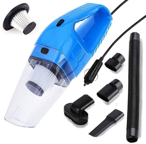 Sampri 12V High Power Wet & Dry Portable Handheld Car Vacuum Cleaner with 4.5M Power Cord Car Vacuum Cleaner Car Vacuum Cleaner Car Vacuum Cleaner
