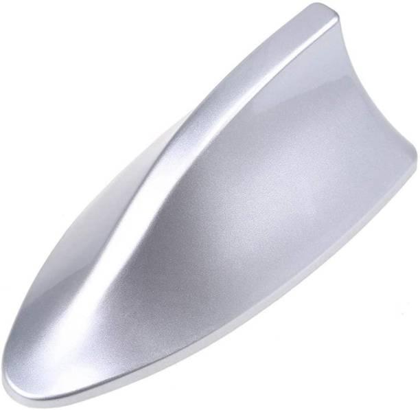 carempire Universal Car FM Signal Aerials Auto Car Top Roof Shark Fin Antenna Cover (Silver) Hidden Vehicle Antenna
