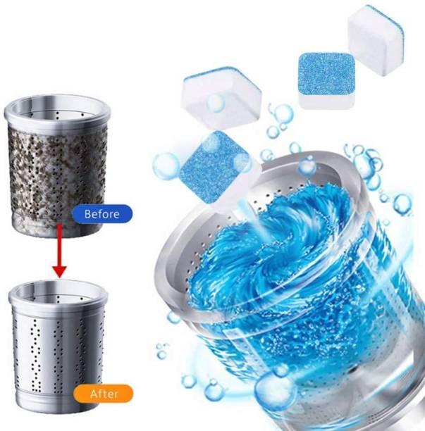 wecare 5 Pcs Washing Machine Descaler Tablets | Washing Machine Tablets for Cleaning | 5 Pcs Dishwashing Detergent (90 g) Detergent Powder 5