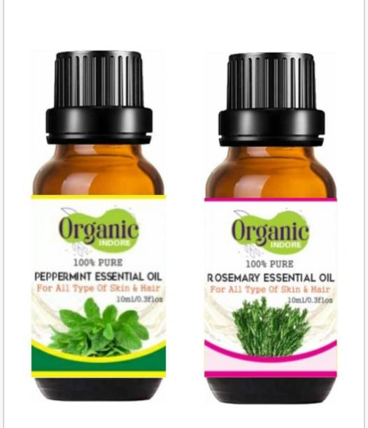 OrganicIndore peppermint oil and Rosemary oil