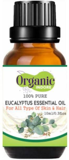 OrganicIndore Eucalyptus oil |Pure and Natural| 10ml
