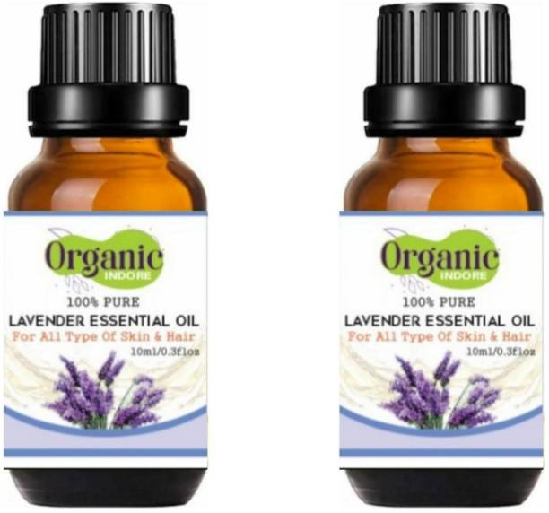 OrganicIndore Lavender oil for skin and hair 20 ml