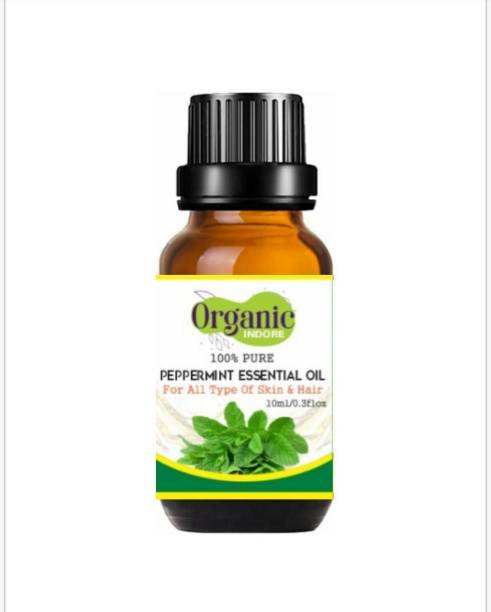 OrganicIndore Peppermint oil | Pure and Natural | 10 ml