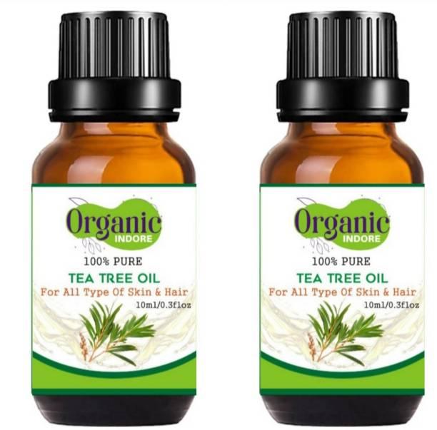 OrganicIndore Tea tree oil for skin and hair 20 ml