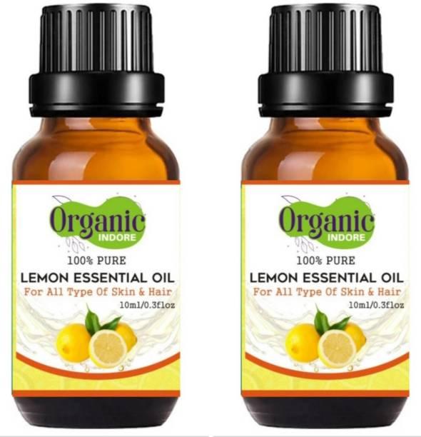 OrganicIndore Lemon oil for skin and hair 20 ml