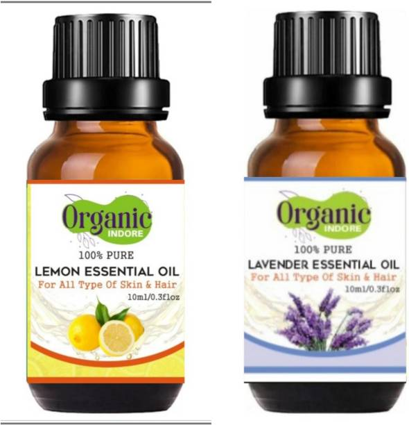 OrganicIndore Lemon oil and Lavender oil