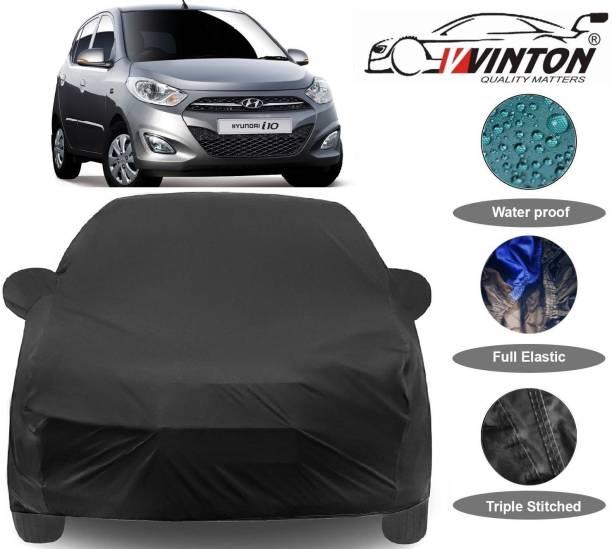 V VINTON Car Cover For Hyundai i10 (With Mirror Pockets)