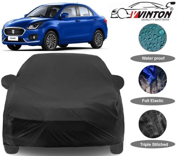 V VINTON Car Cover For Maruti Suzuki Swift Dzire (With Mirror Pockets)