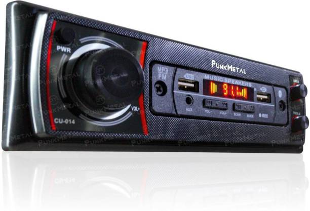 PunkMetal DUAL-USB/SD/BLUETOOTH/AUX/FM/MP3 Car Stereo