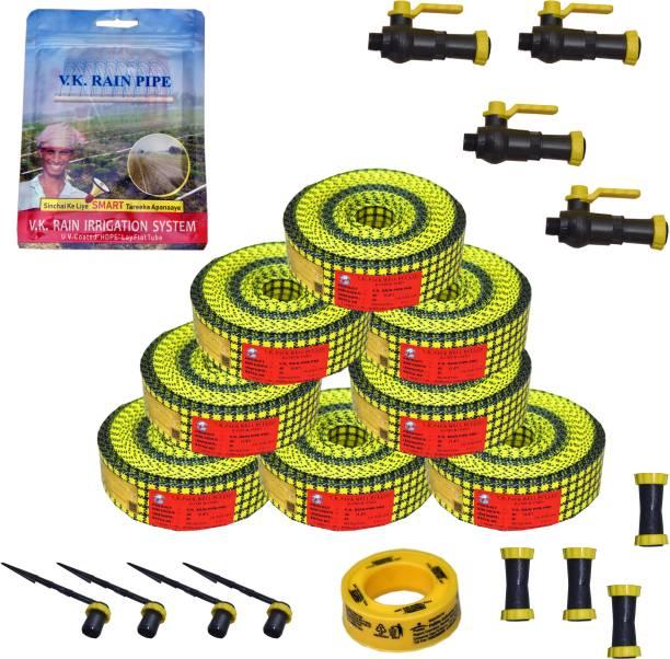 VK Sarvottam Rain Pipe irrigation System PRO Compatible with HDPE sprinkler Quick Coupled - 1500 sq.m (25 MM) Drip Irrigation Kit