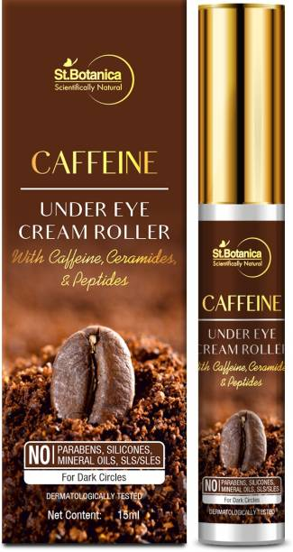 StBotanica Caffeine 1% Under Eye Cream Roller,