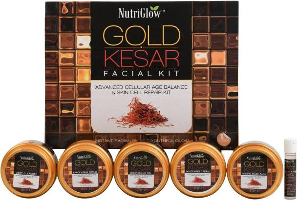 NutriGlow Gold Kesar Facial Kit 250 g