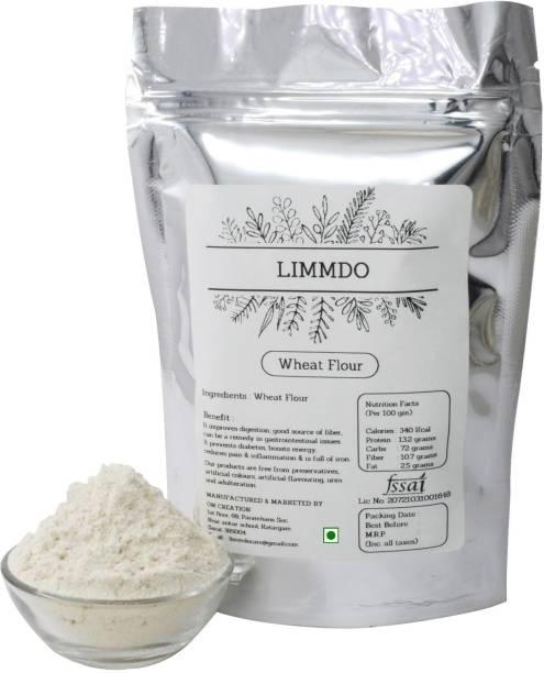 LIMMDO Natural healthy no preservative no mixter whole wheat atta Flour 3KG