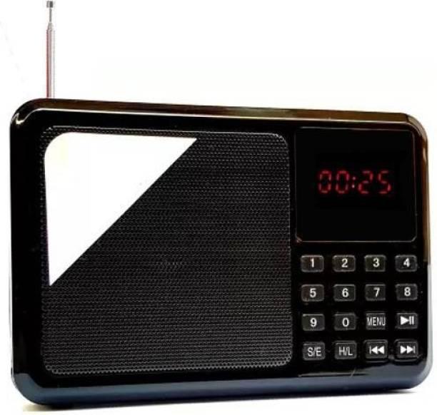 CRETO SM-471FM Portable Music Speaker Fm-Radio with USB/SD Card Slots FM Radio