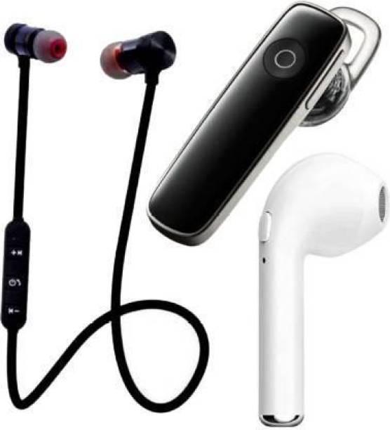 flying india N2B MAGNET-K1-I7 Pack of 3 Bluetooth Bluetooth Headset Bluetooth Headset