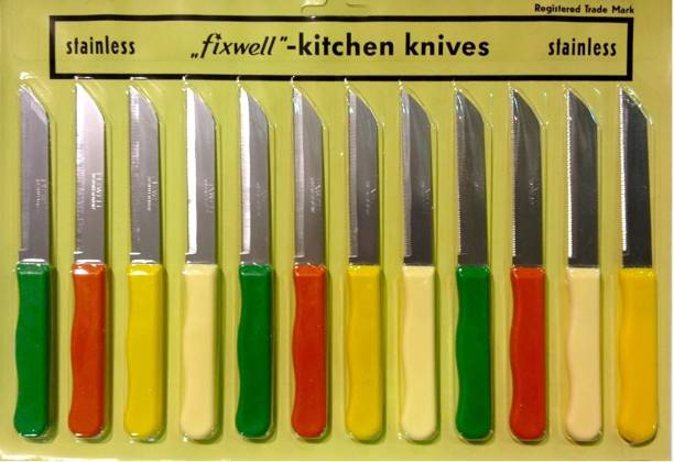 Fixwell Stainless Steel Knife Set