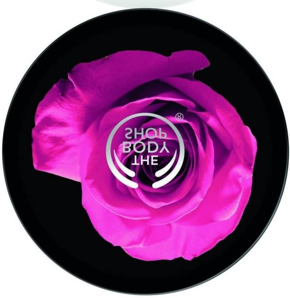 THE BODY SHOP BRITISH ROSE INSTANT GLOW BODY BUTTER PK OF 1 196 G