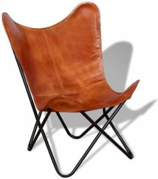 kohinoor glass art Leather Outdoor Chair