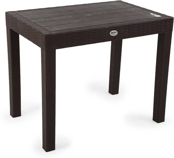 AVRO furniture NEXA DINING/OFFICE TABLE RATTAN Plastic Outdoor Table