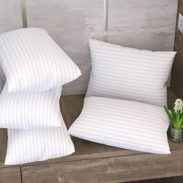 LA VERNE Microfibre Stripes Sleeping Pillow Pack of 5