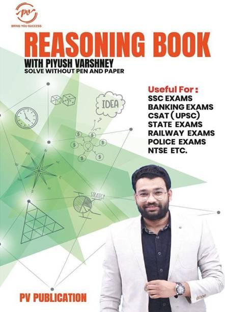 Reasoning Book With Piyush Varshney (English Medium)
