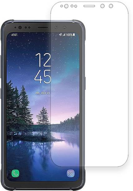Ji1 Edge To Edge Tempered Glass for Samsung Galaxy S8 Active 2017