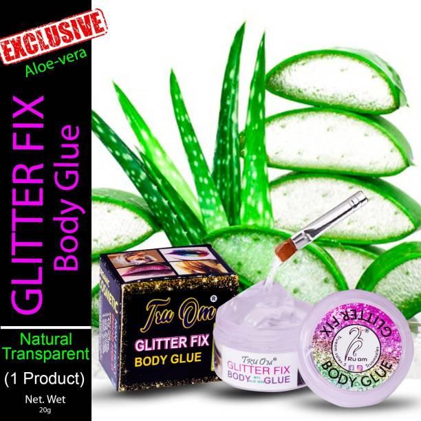 TruOm Glitter Fixer Body Glue (pack of 1)