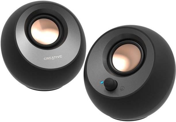 CREATIVE CT - Pebble V3 - BK 16 W Bluetooth Laptop/Desktop Speaker