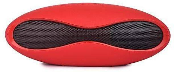 VEETEEL Rugby Mini-X6U Wireless Bluetooth Mini Stereo Sound Speaker with SD Card and FM Radio Support Compatible with All Smart-Phones 5 W Bluetooth Speaker