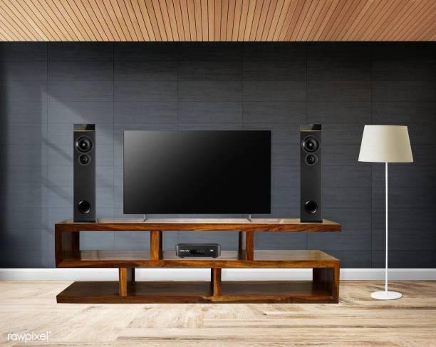 Flipkart Perfect Homes Sheesham Wood Solid Wood TV Entertainment Unit