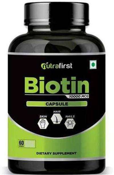 NutraFirst Biotin for Hair Growth and Improve Skin and Nails 1B