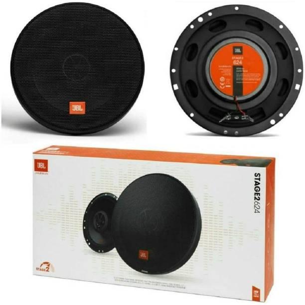 JBL - 16 cms - 240W Peak 40W RMS - STAGE2 624 - 6 1/2 In - Round Coaxial Car Speaker
