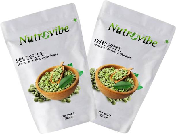 Nutrovibe Green Coffee Beans for Weight Loss Green Coffee Coffee Beans