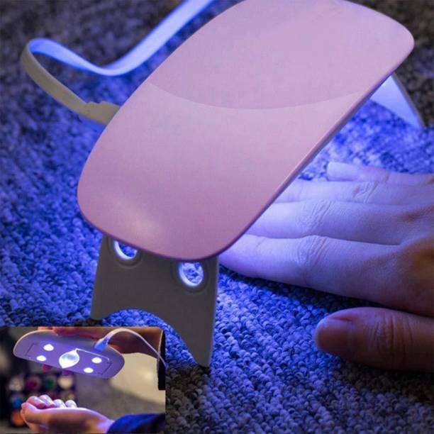 NIYATI ENTERPRISE Nail Polish Dryer, Mini Foldable Nail Lamp, Gel Based Nail Polish for All Kind of Nail Paints Nail Polish Dryer