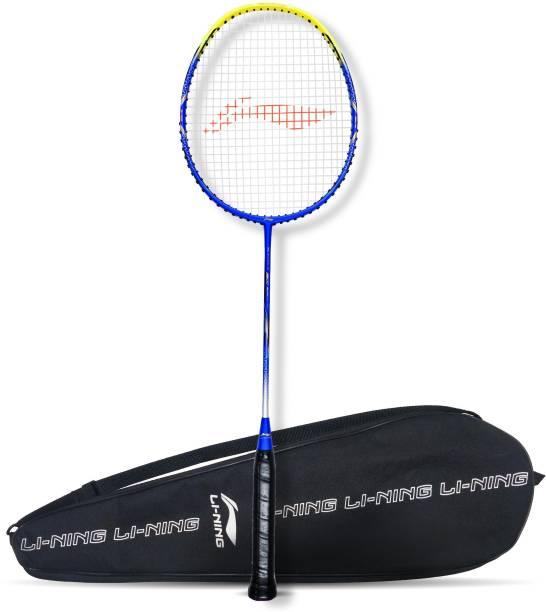 LI-NING G-Force 3600 Superlite Blue, Yellow Strung Badminton Racquet
