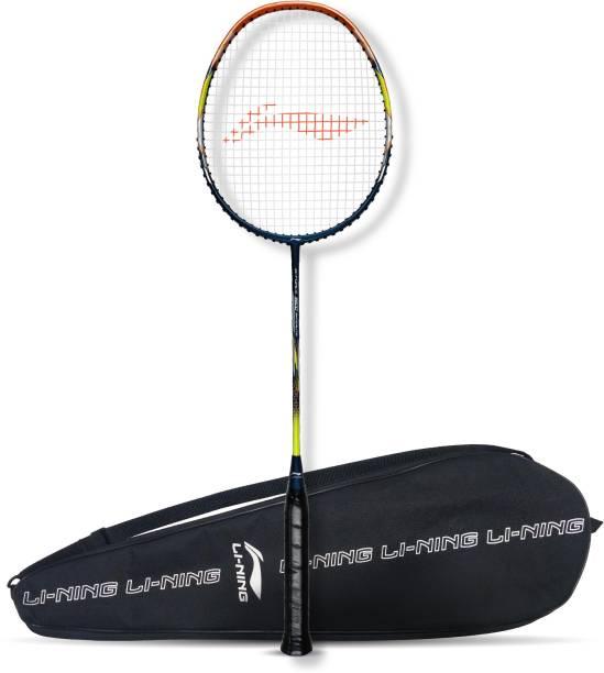LI-NING G-Force 3800 Superlite Blue, Brown Strung Badminton Racquet