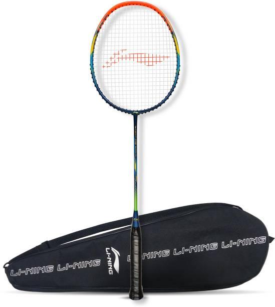 LI-NING G-Force 3700 Superlite Blue, Orange Strung Badminton Racquet
