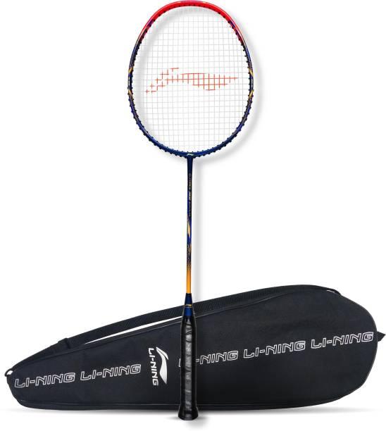 LI-NING G-Force 3500 Superlite Blue, Red Strung Badminton Racquet